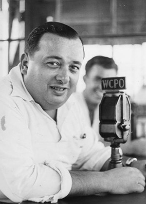 """Harry Hartman, Cincinnati Reds announcer from 1931-1933 who coined the phrase """"Going, Going Gone"""""""