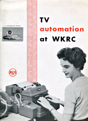 24-page booklet booklet for WKRC on a early television production system built by RCA