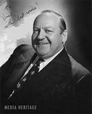 Arthur Q Bryan, a voice actor known as the voice for Elmer Fudd and Dr. Gamble on Fibber McGee and Molly