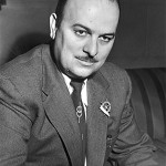 Frank Nelson a voice actor who was a recurring character on The Jack Benny Show, and also on I Love Lucy, The Flinstones and even Saturday Night Live.